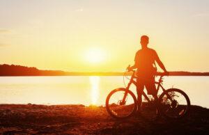 Velencei tó biciklivel