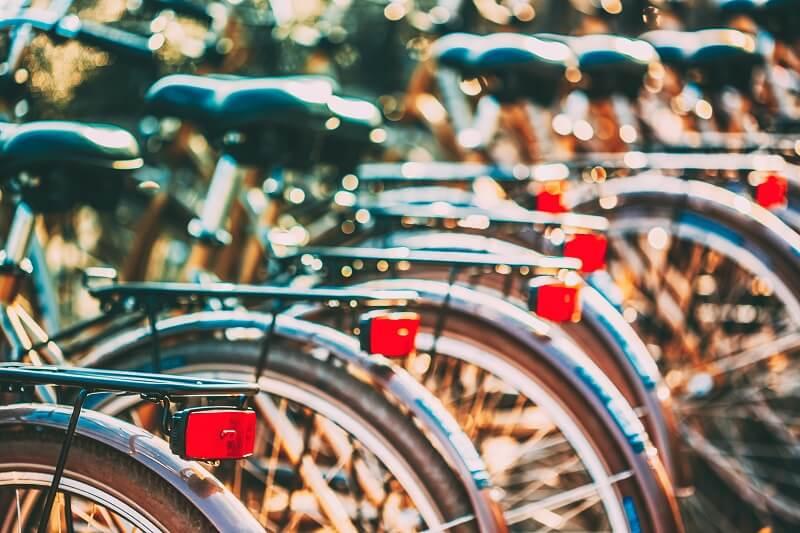 bicikli bérlés Velencei-tó